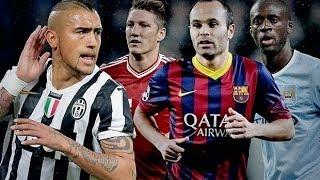 Top 10 midfielders in the world 2013-2014 || hd