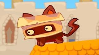 МУЛЬТИК игра для детей про Маленького Котенка из Оригами и Крошечный король #ПУРУМЧАТА
