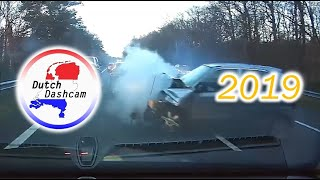 Dutch Dashcam compilation Netherlands 2019 (Eng subs)