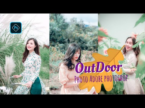 Photoshop Tutorial | CC Edit Outdoor Photo  Camera Rall Filter thumbnail