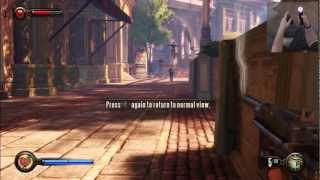 Bioshock Infinite - Playstation 3 - In Depth PS Move Demonstration