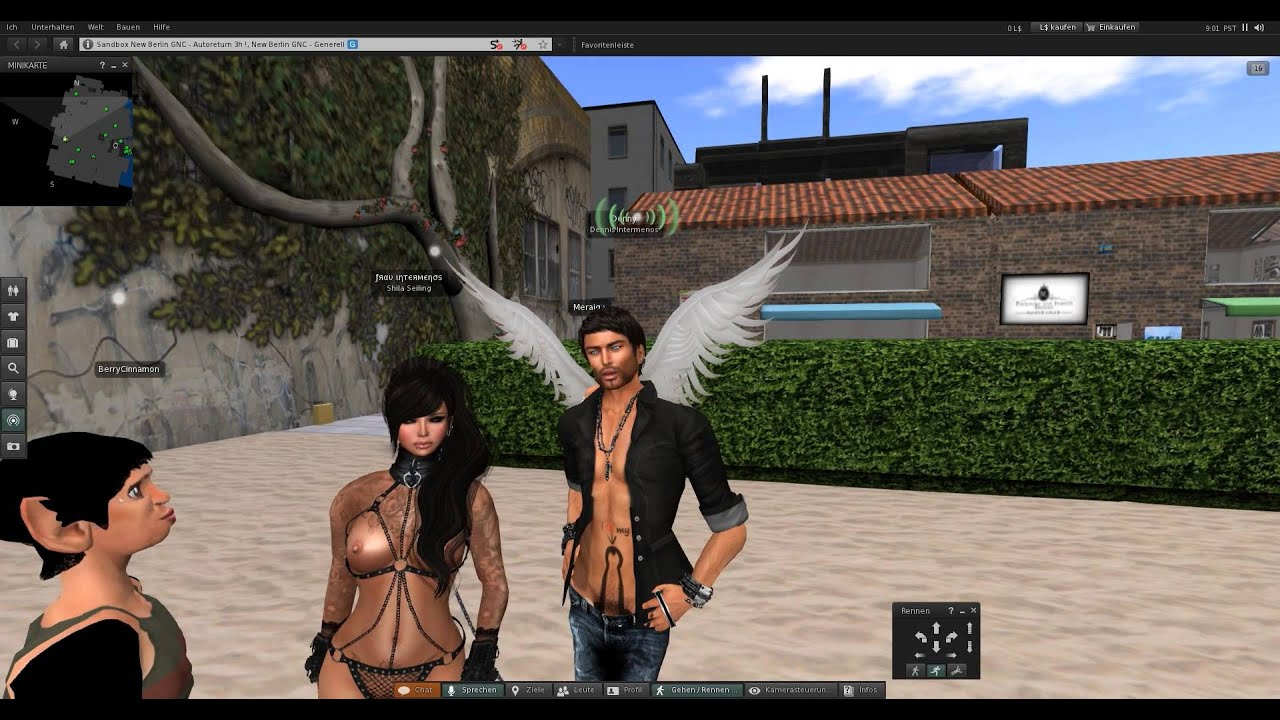 Second Life - BerryCinnamon: Chicksterminator - Episode 2 [18+] - YouTube