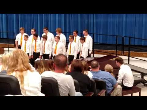 05 10 2016 Newcomerstown High School Choir 13 Men Special
