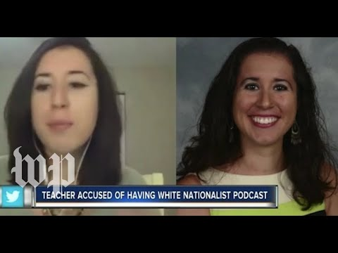 Florida teacher suspended after being caught leading a double life as a white nationalist podcaster