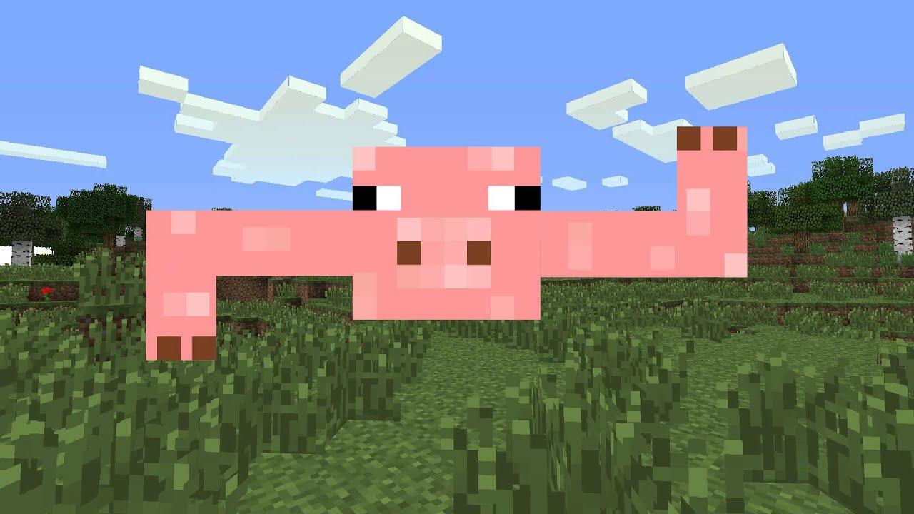 Minecraft Pig No Speak Americano YouTube