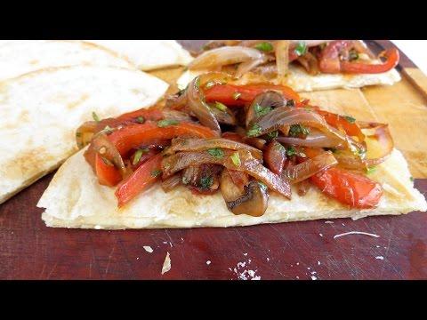 Veggie Quesadilla Recipe (Can be Vegan) — The Frugal Chef