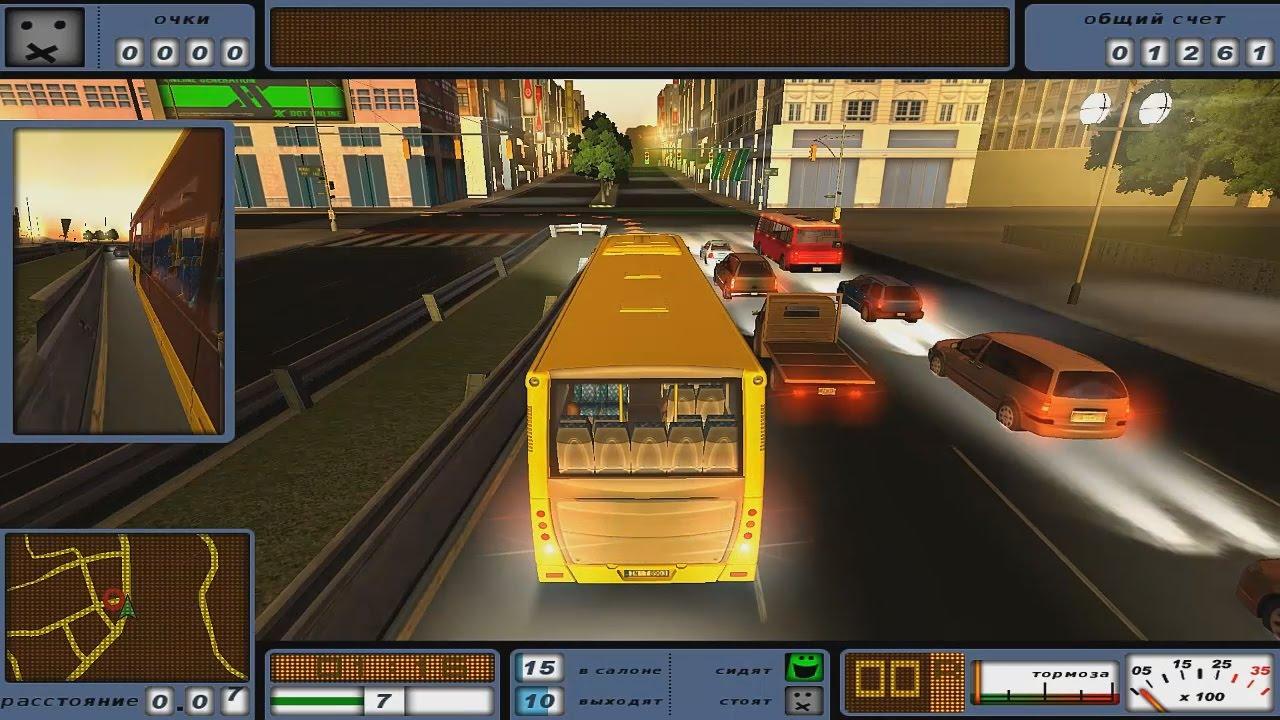 Обзор игры bus driver