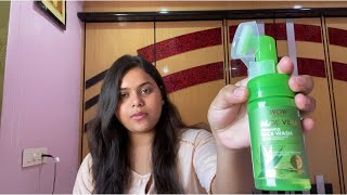 WOW SKIN SCIENCE| ALOE VERA FOAMING FACE WASH | REVIEW