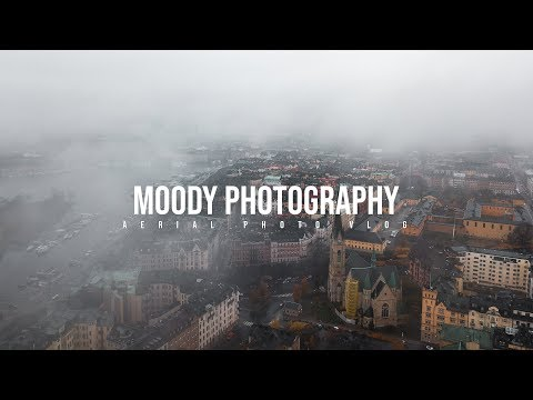 Moody Aerial Photography in Stockholm Sweden!