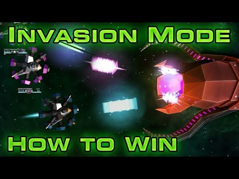 INVASION MODE - How To Beat All 10 Waves - Starblast