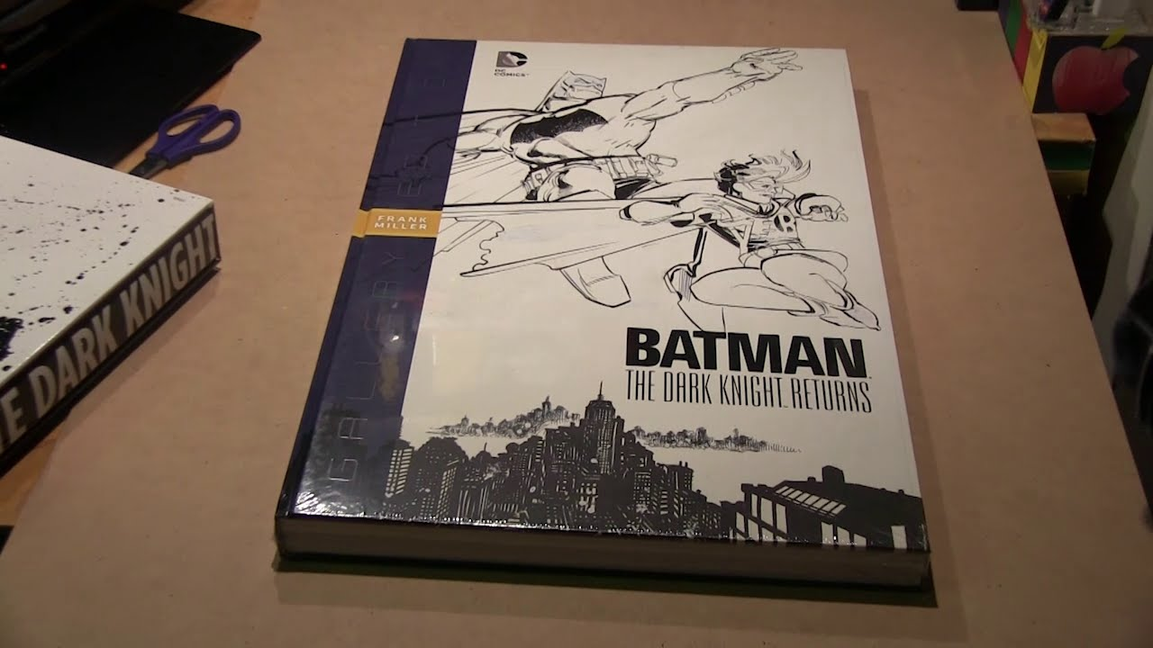 Batman The Dark Knight Returns Gallery Edition