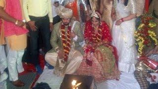 Marriage Of Satyvarta Kadian And Sakshi Malik-ऐसे हुई रेसलर्स साक्षी-सत्यव्रत की शादी