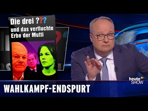 Bundestagswahl: ALLES ist möglich   heute-show vom 24.09.2021