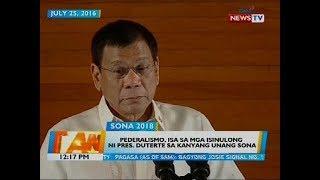 Video Pederalismo, isa sa mga isinulong ni Pres. Duterte sa kanyang umanong SONA download MP3, 3GP, MP4, WEBM, AVI, FLV September 2018