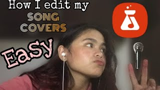 HOW I EDIT MY SONG COVERS (EASY+SIMPLE WAY ON ANDROID OR IOS) screenshot 5