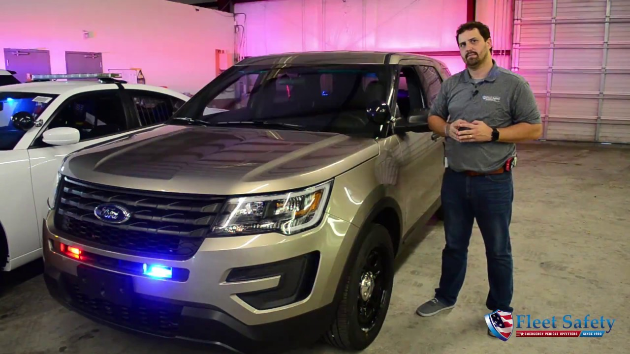 2016 Ford Explorer For Sale >> Pre-Built 2017 Tan Ford Police Interceptor Utility Admin Slick-Top Ready for the Road For Sale ...