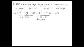 Simplificar una función mediante boole