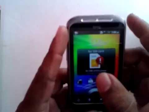 HTC Sense Android Pattern Unlock