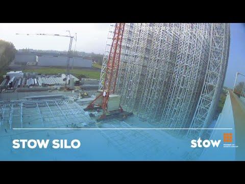 Construction of Stow Silo high-bay deepfreeze warehouse at Crop's