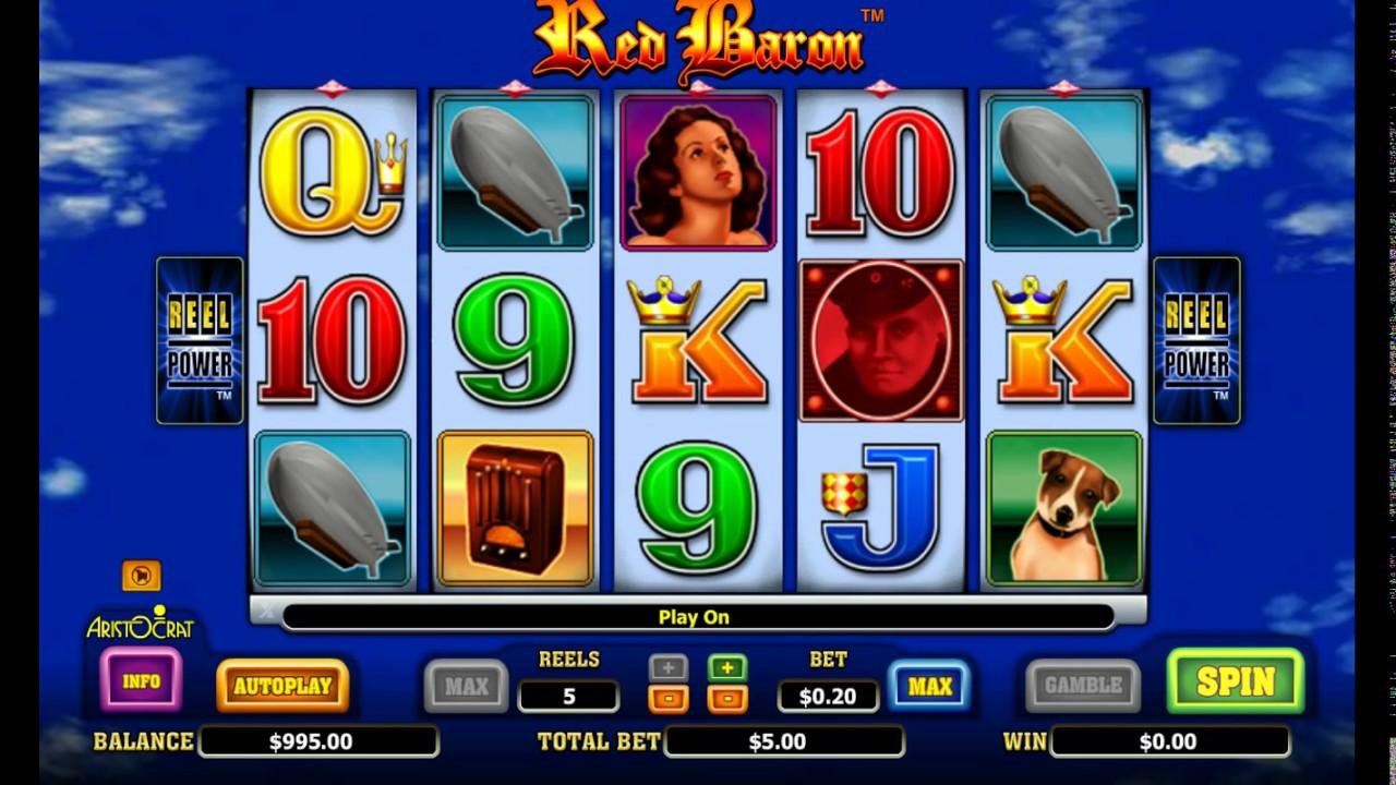 игровой автомат reel baron