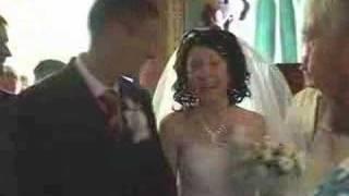 Прикол на весіллі