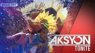 Pagbubukas ng Panagbenga Festival, naging makulay