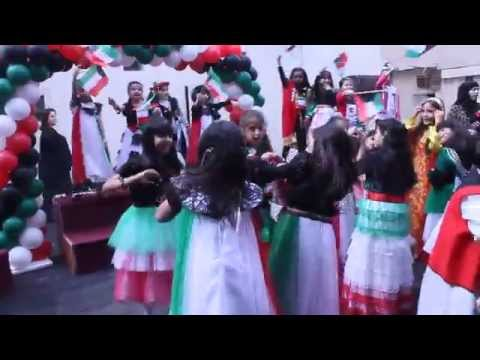 Arab American Bilingual Academy celebrating Kuwait's national day 19-2-2015