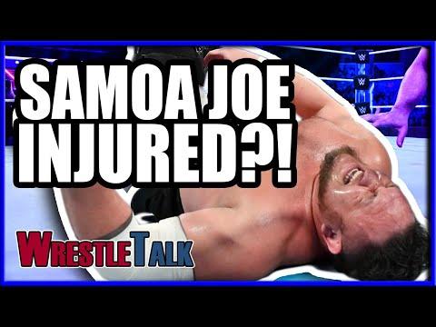 Samoa Joe INJURED?! | WWE Smackdown Live Oct. 9 2018 Review