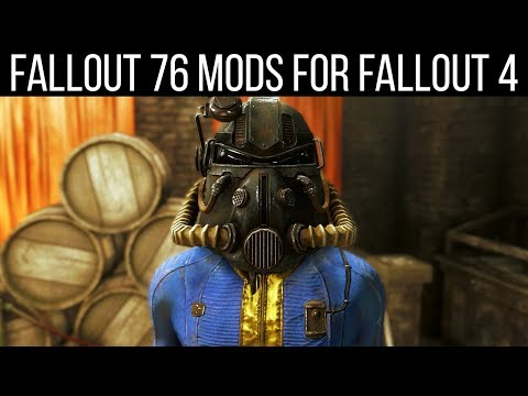 13 Mods to Bring Fallout 76 into Fallout 4