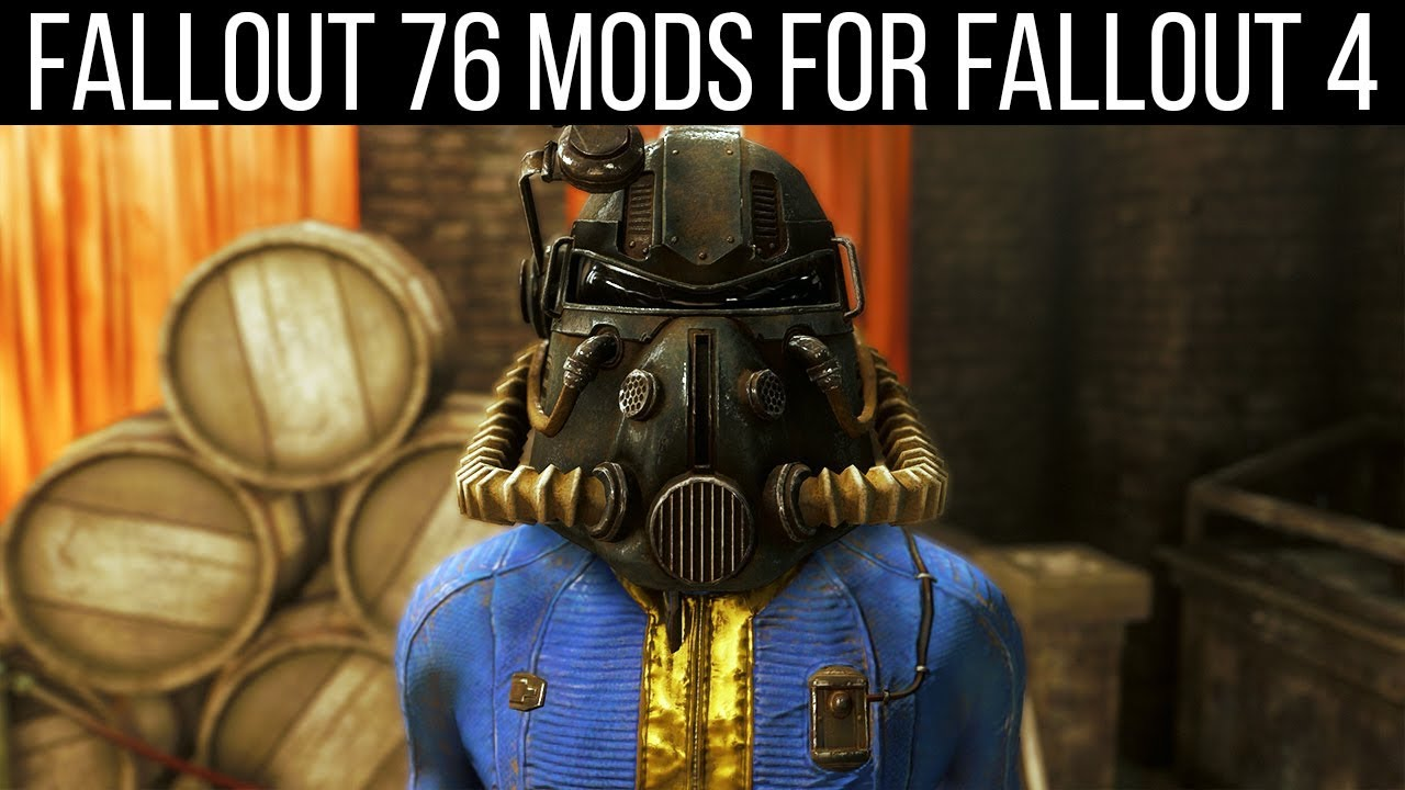 13 Mods to Bring Fallout 76 into Fallout 4 - YouTube