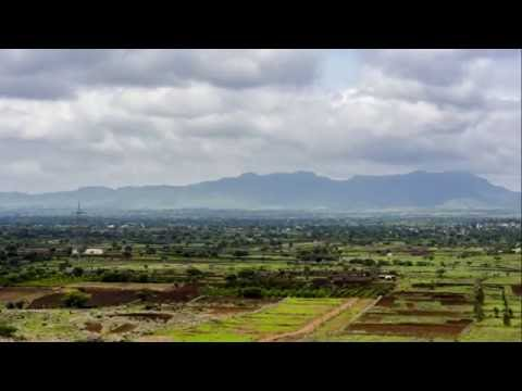 Hill Timelapse Pune, India