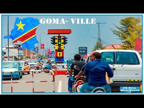 Super voyage dans la ville de Goma, RDC 2020