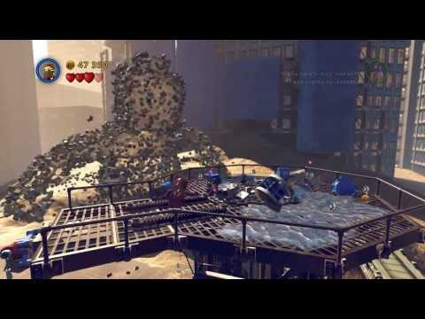 Обзор LEGO Marvel Super Heroes
