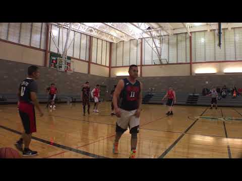 Gut Fitness Sports Adult Basketball League: Season 9 week 3 Game 1 Panthers vs Jaguars