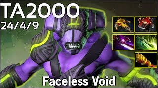 TA2000  - Faceless Void - Dota 2  7.17