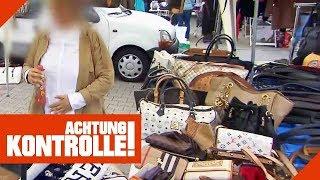 Gefälschte Handtaschen auf dem Flohmarkt: Marktleiter greifen ein! | Achtung Kontrolle | Kabel Eins