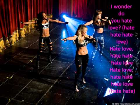 Girlicious Hate Love with lyrics