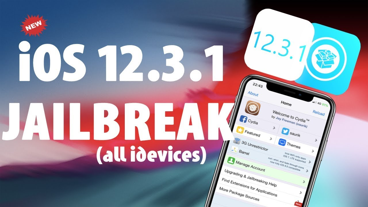 Jailbreak iOS 12 3 1 - How to Jailbreak iOS 12 3 1 - Cydia 12 3 1 (2019)