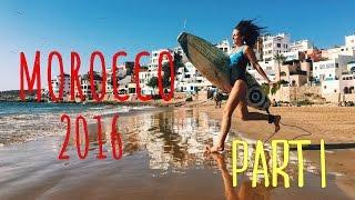 Марокко Часть 1: Первое жилье. Первый сёрфинг.
