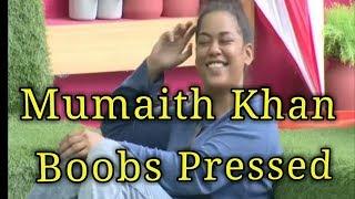 Mumaith Khan Boobs Pressed In Telugu Bigg Boss Day-19