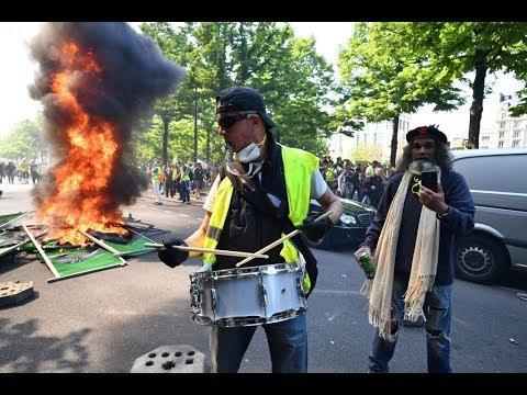 السترات الصفر يعودون إلى شوارع باريس في إنذار جديد  - نشر قبل 2 ساعة