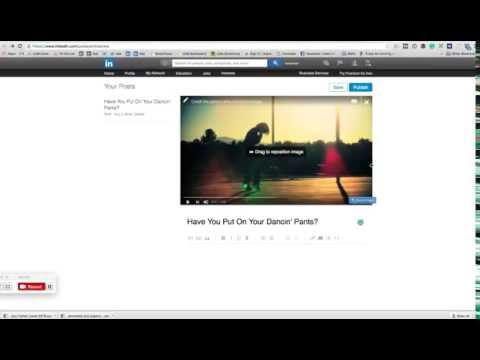 How To Upload a Video to a LinkedIn Post/Blog