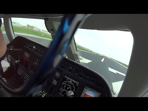GOOGLE GLASS | FULL FLIGHT AMSTERDAM DUSSELDORF CITATION SOVEREIGN CE-680
