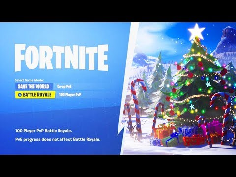 Save The World Christmas Event 2020 FORTNITE CHRISTMAS EVENT RIGHT NOW! (FORTNITE BATTLE ROYALE)   YouTube