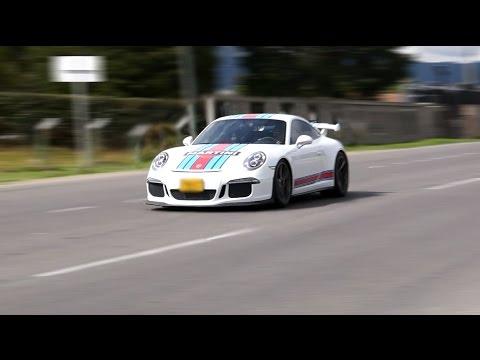 BMW M4, Ferrari 458, Porsche GT3 y más autos deportivos acelerando - Colombia
