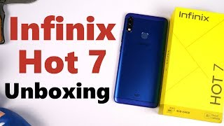 Infinix Hot 7 Unboxing, Specs, Price, Hands-on Review