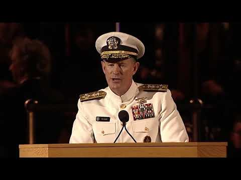 Entrepreneur Mind :  Navy Seal commander gives some of the best advice to Grads at commencement