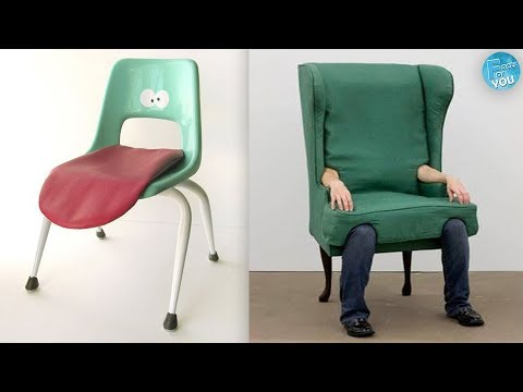 Most Creative & Unusual Chair Designs Ever