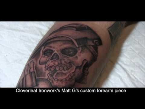 Iron Worker Tattoo