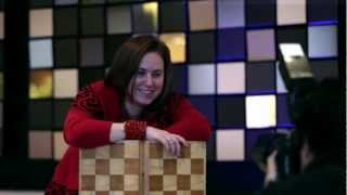 Judit Polgar Giving a Hard Time to Carlsen in Mexico